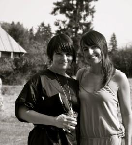 Julia and Kristen